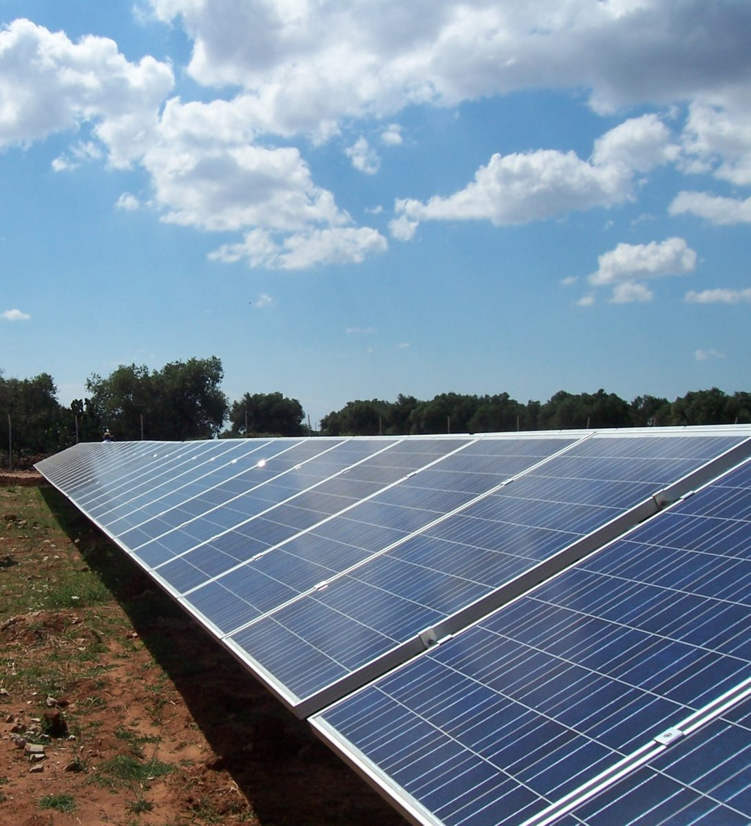 A MW-sized PV plant installed in Italy's southern region of Apulia.