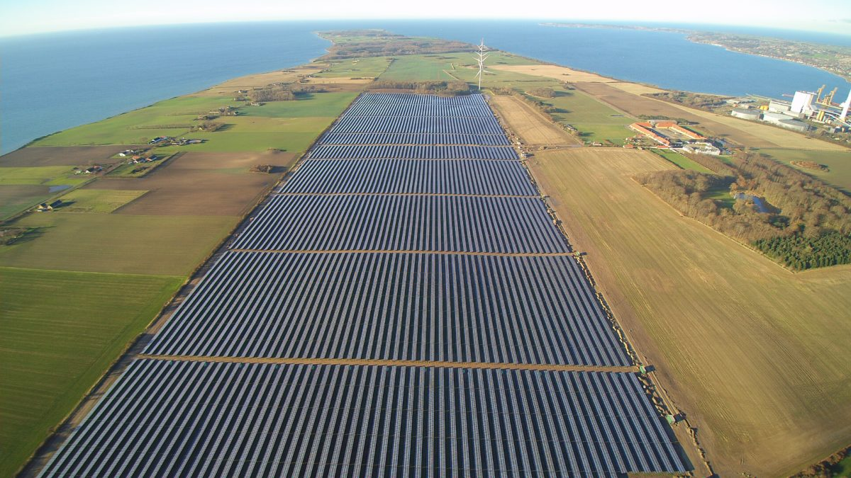 Denmark's largest PV installation is a 61 MW solar power plant connected to the grid by German developer Wirsol in August 2015.