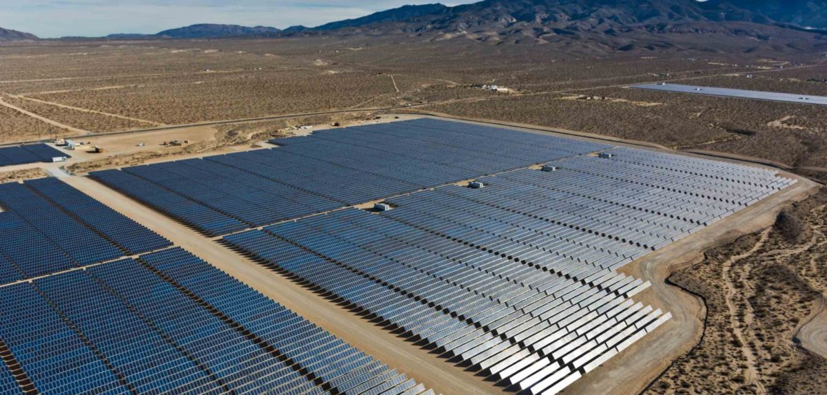 EDPR's Lone Valley PV plant in California